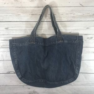 THEORY Denim Tote Bag